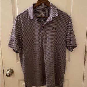 Under Armour Heat Gear golf shirt